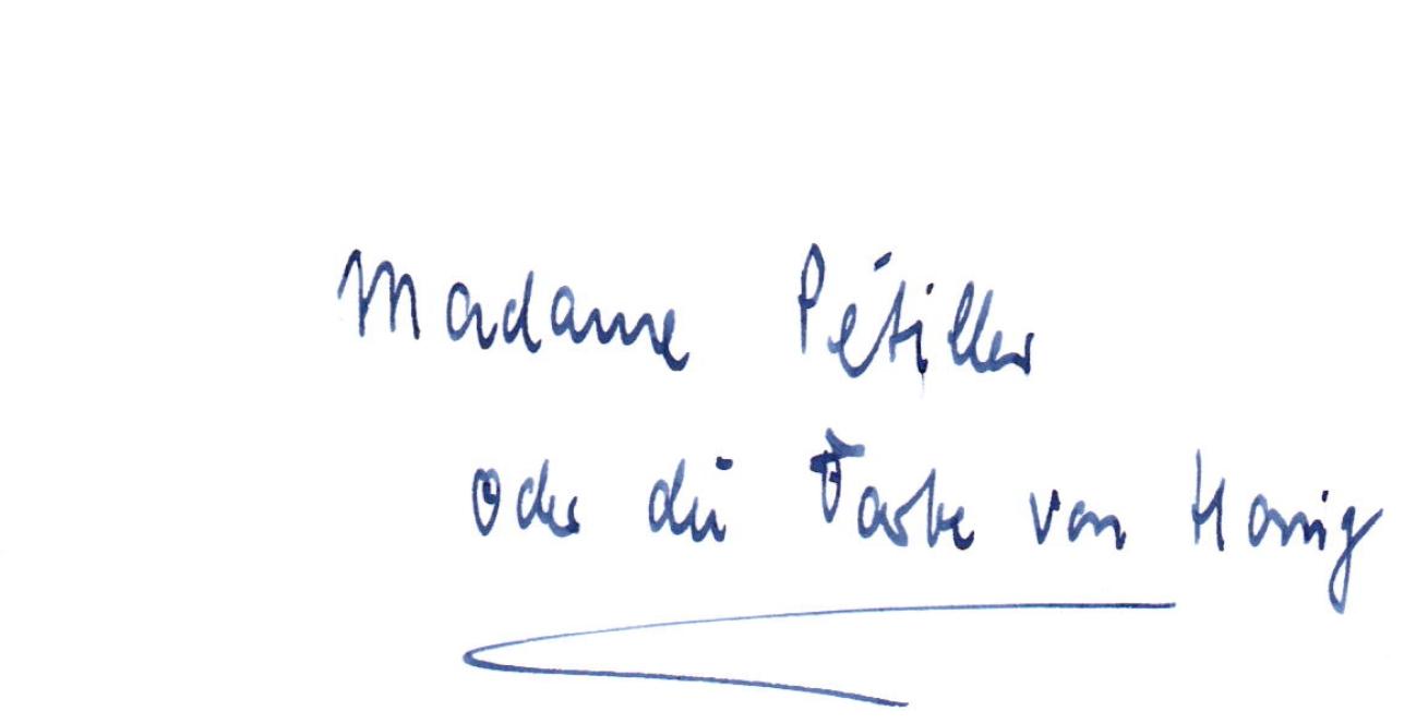 Madame Pétiller